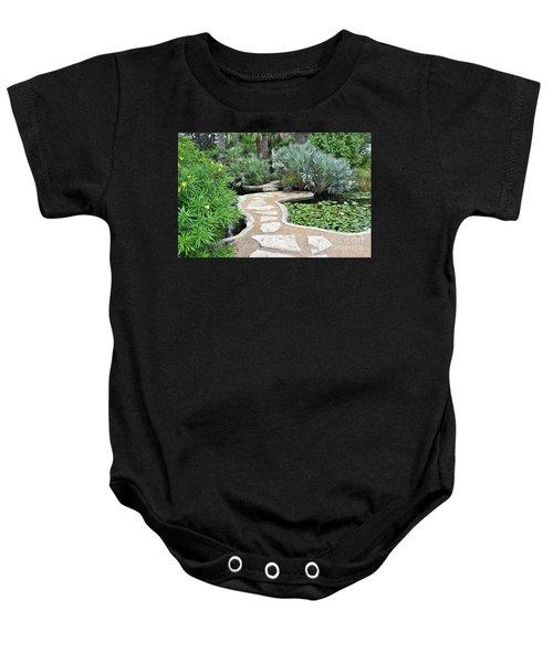 Garden Path  Baby Onesie