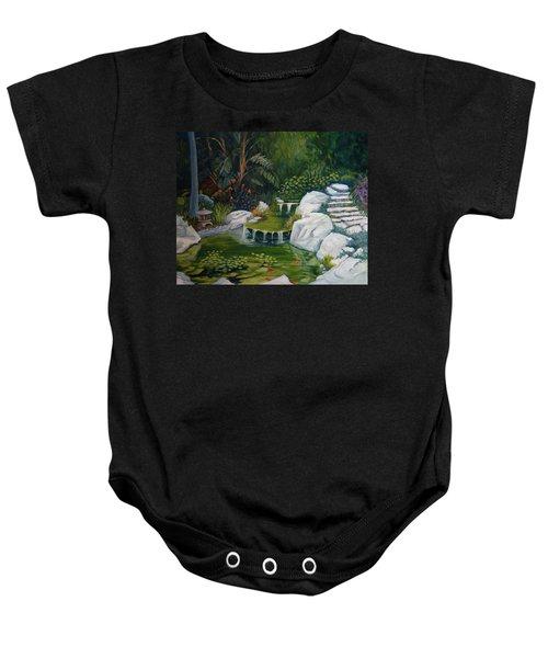 Garden Retreat Baby Onesie