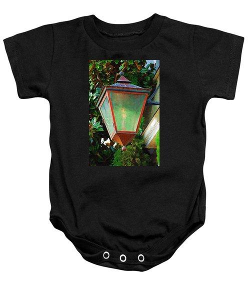 Gas Lantern Baby Onesie