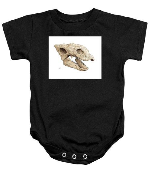Gastonia Burgei Skull Baby Onesie