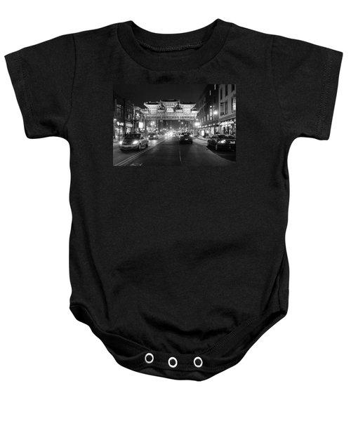 Gateway To Chinatown Baby Onesie