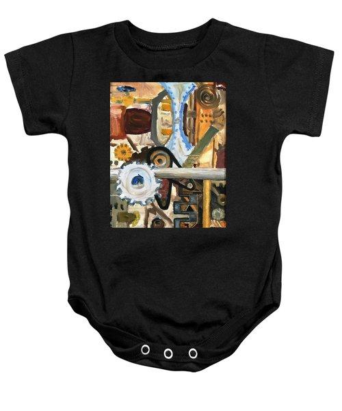 Gears In The Machine Baby Onesie