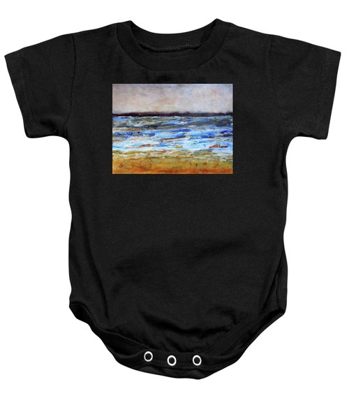 Generations Abstract Landscape Baby Onesie