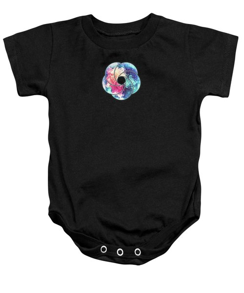 Geometry Triangle Wave Multicolor Mosaic Pattern Hdr   Low Poly Art  Baby Onesie