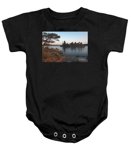 Georgian Bay Sunrise-4299 Baby Onesie