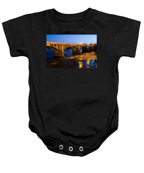 Gervais Street Bridge At Twilight Baby Onesie