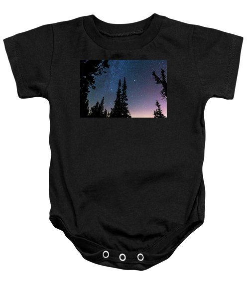 Baby Onesie featuring the photograph Getting Lost In A Night Sky by James BO Insogna