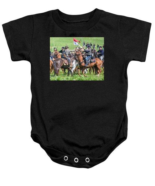 Gettysburg Cavalry Battle 8021c  Baby Onesie