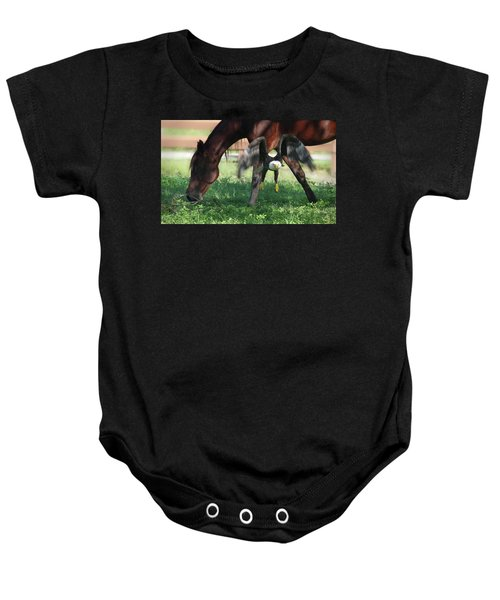 Giddy Up. Baby Onesie