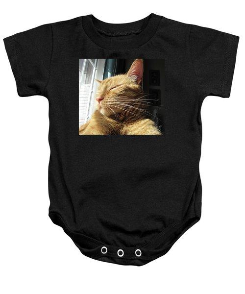 Ginger Tabby Baby Onesie