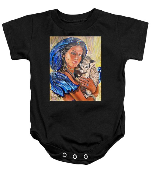 Independent Indian Girl.              From The Attitude Girls  Baby Onesie
