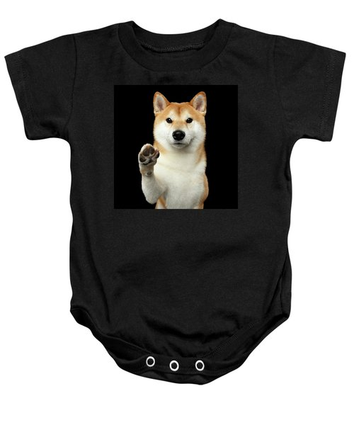 Give Me A Hand Man Baby Onesie