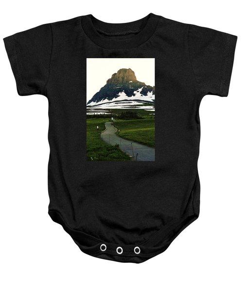 Glacier National Park 8 Baby Onesie