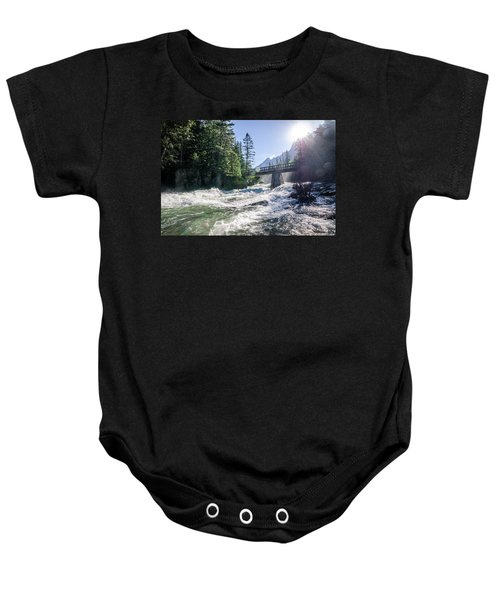 Glacier National Park Beauty Baby Onesie