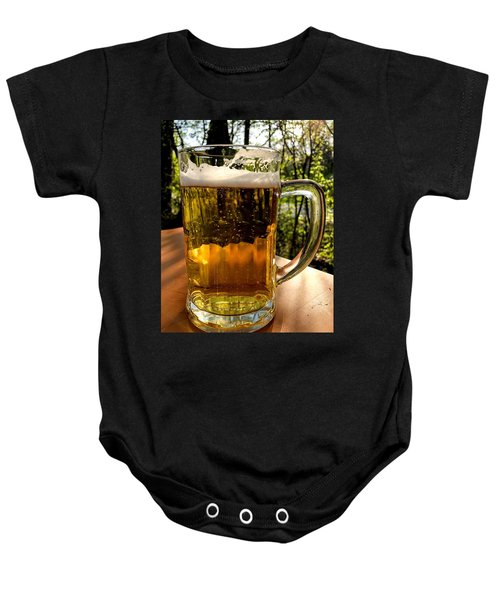 Glass Of Beer Baby Onesie