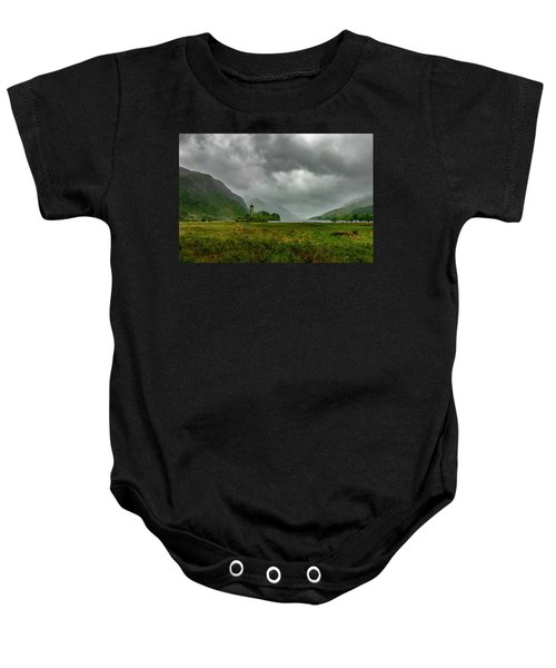 Glencoe, Scotland Baby Onesie