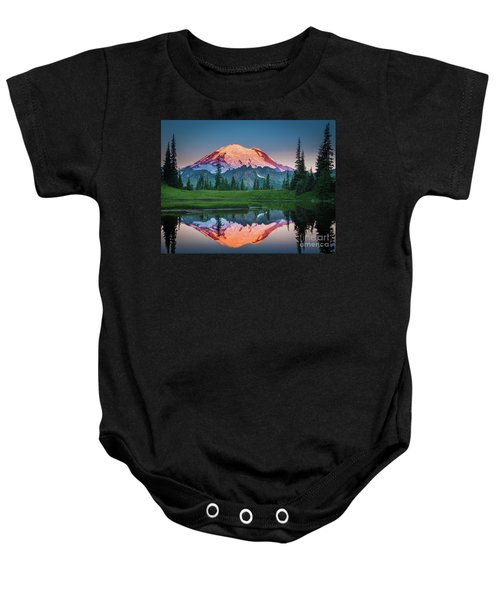Glowing Peak - August Baby Onesie