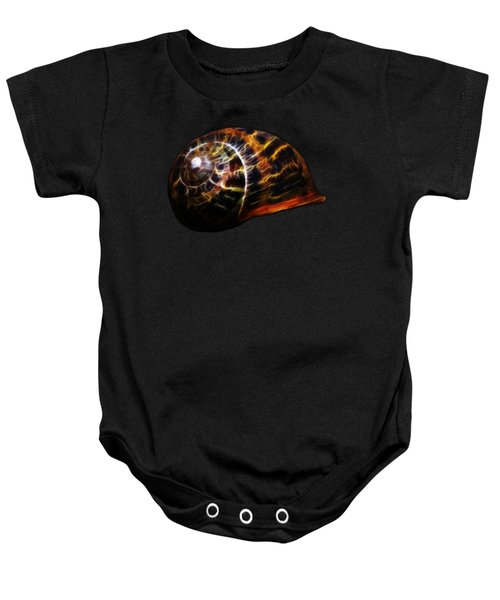Glowing Shell Baby Onesie