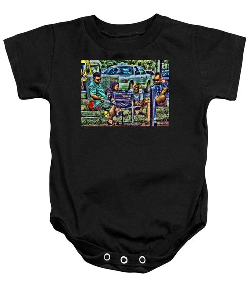 Going Places From Harvard Square Baby Onesie