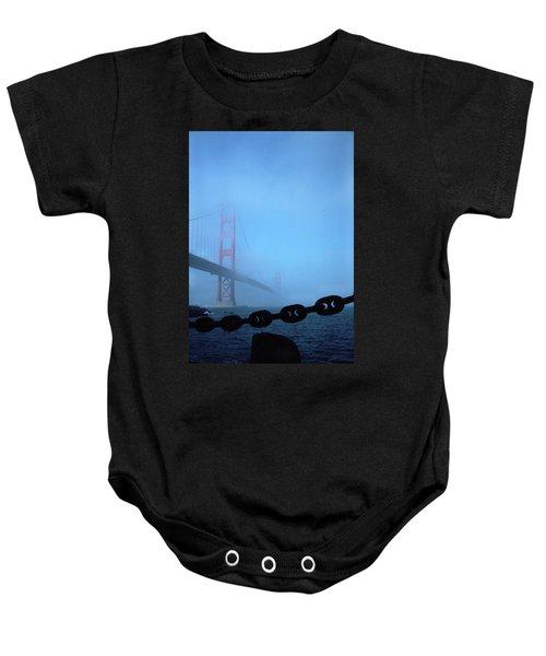Golden Gate Bridge From Fort Point Baby Onesie