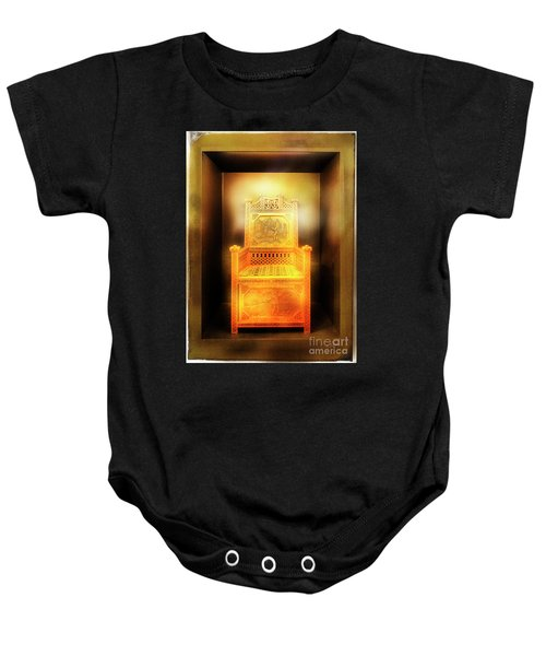 Golden Throne Baby Onesie