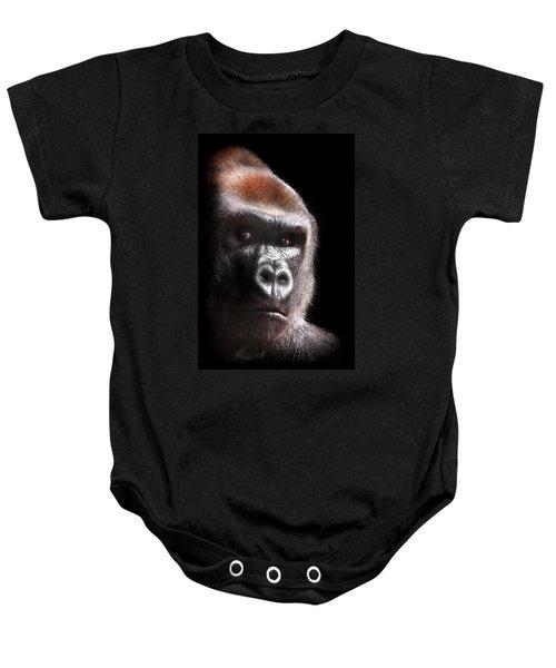 Gorilla ... Kouillou Baby Onesie by Stephie Butler