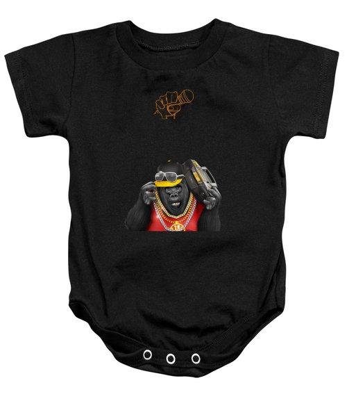Gorillaz Hip Hop Style Baby Onesie