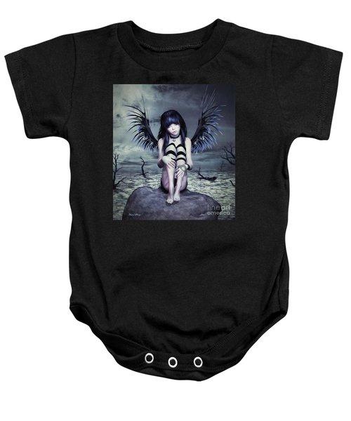 Goth Fairy Baby Onesie