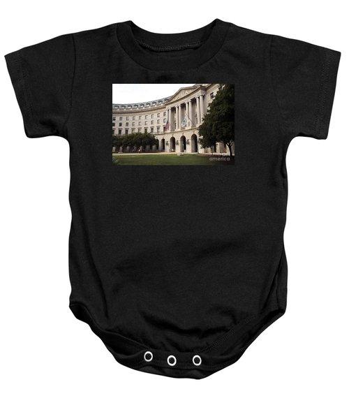 Government Achitecture In Washington Dc Baby Onesie