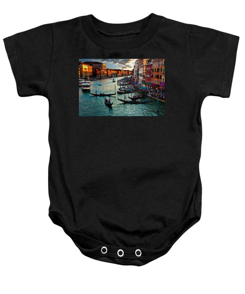 Grand Canal Sunset Baby Onesie