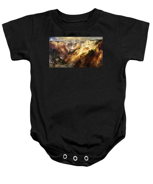 Grand Canyon Of The Yellowstone Baby Onesie