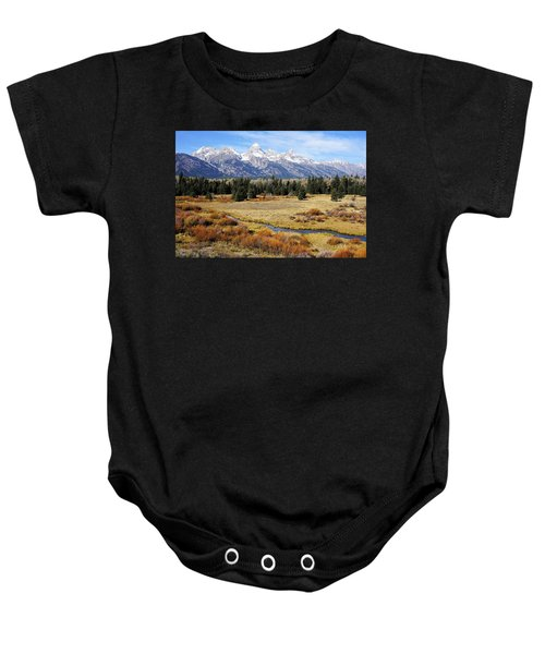 Grand Teton Baby Onesie