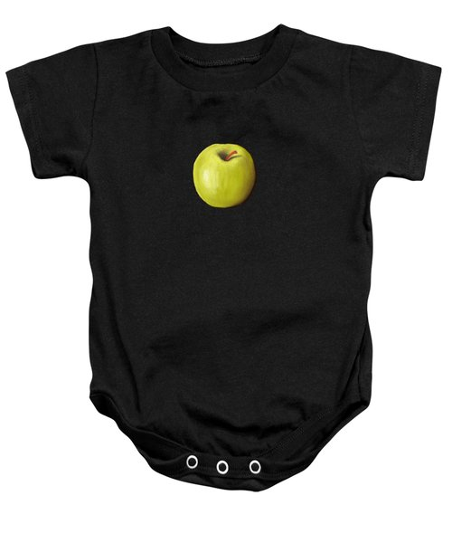Granny Smith Apple Baby Onesie by Anastasiya Malakhova