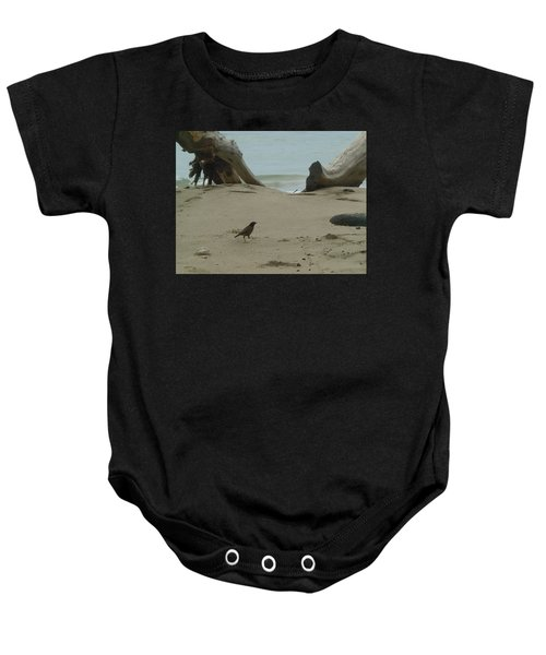 Gray Day On Maui Baby Onesie