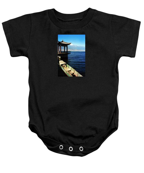 Great Blue Sea Baby Onesie