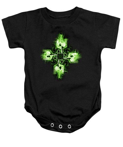 Green Cross Baby Onesie