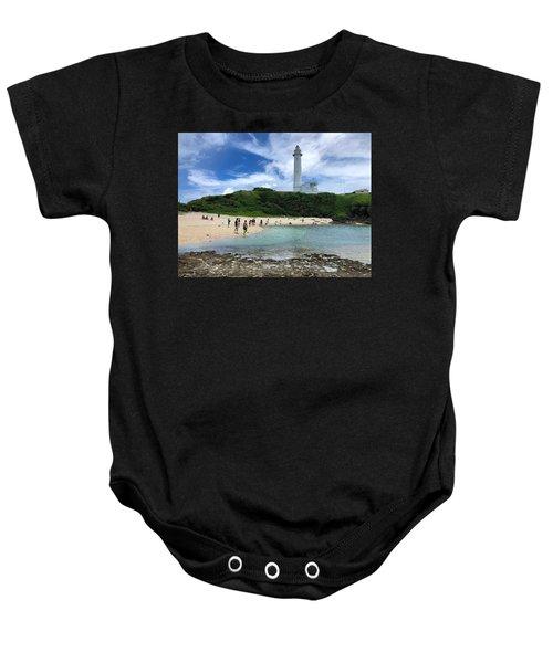 Green Island Beach Baby Onesie
