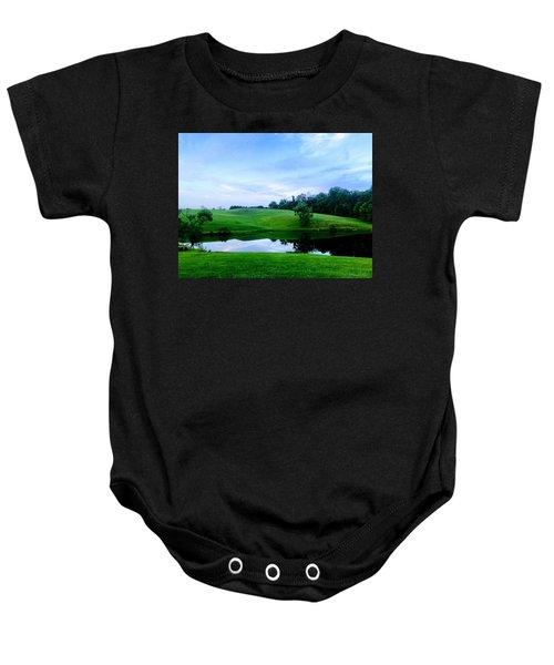 Greener Pastures Baby Onesie