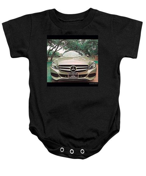 #grey #sky And A #silver Grey #car Baby Onesie