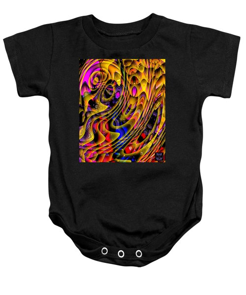 Guitar Abstract Baby Onesie