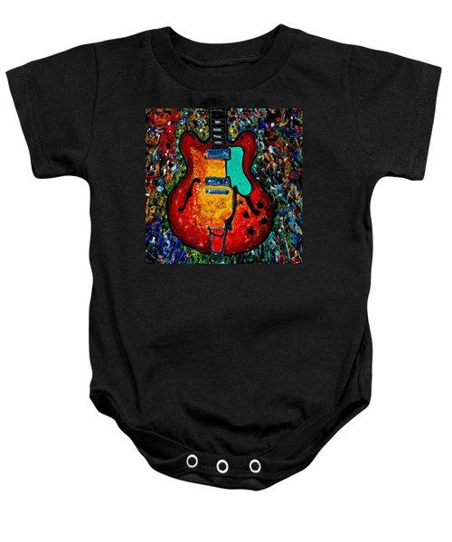 Guitar Scene Baby Onesie