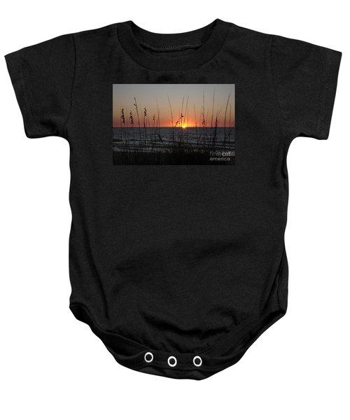 Gulf Sunset In Florida Baby Onesie