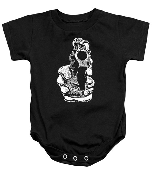 Gunman T-shirt Baby Onesie by Edward Fielding