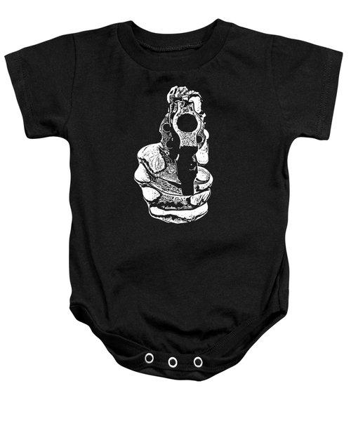 Gunman T-shirt Baby Onesie