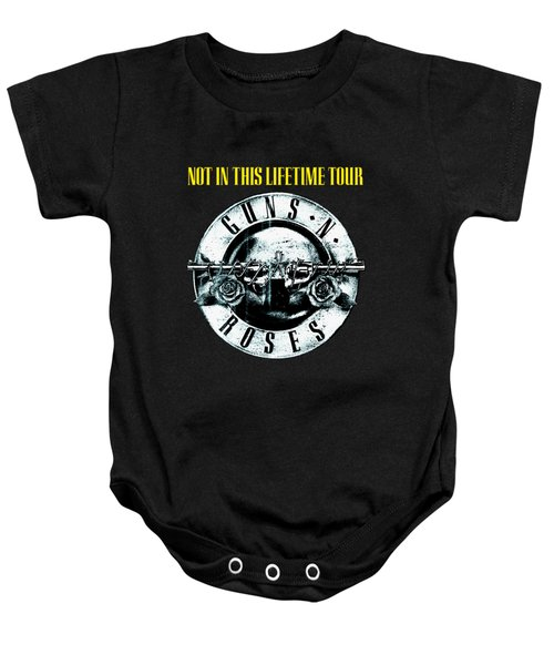 Guns And Roses Logo1 2017 Baby Onesie