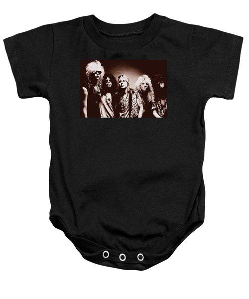Guns N' Roses - Band Portrait 02 Baby Onesie