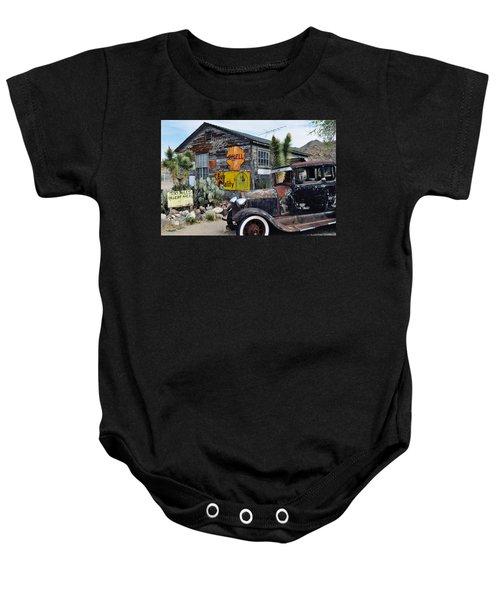Hackberry Route 66 Auto Baby Onesie