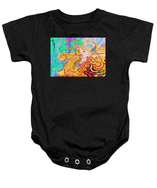Hair Of The Divine Universe Baby Onesie