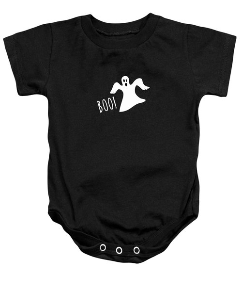 Halloween Ghost Boo Baby Onesie