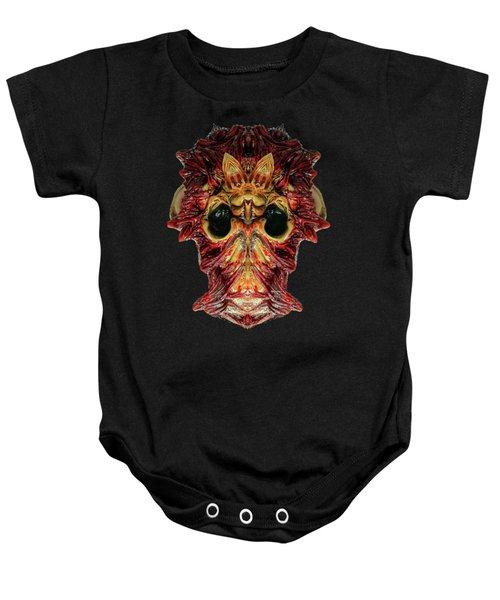 Halloween Mask 01214 Baby Onesie